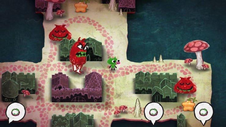 Gesundheit! для iPad: веселая инди-головоломка о приключениях сопливого поросенка