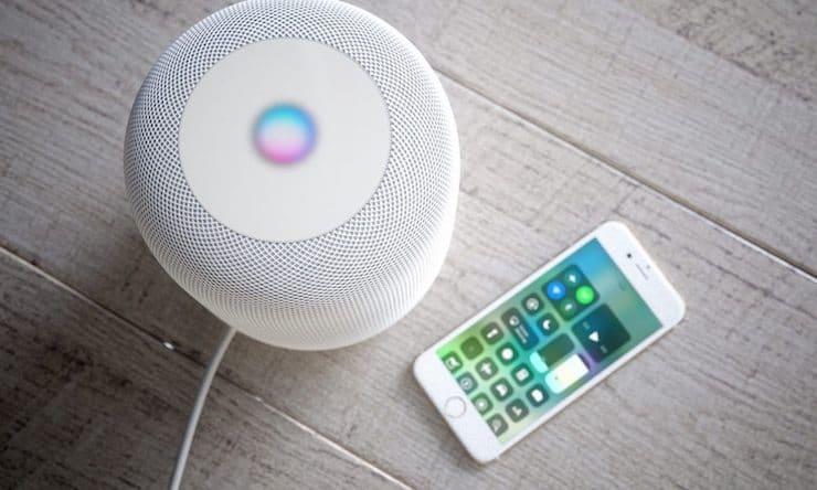 смарт-колонка Apple HomePod