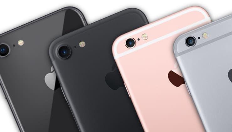 Подробное сравнение iPhone 8, iPhone 7, iPhone 6s и iPhone 6: В чем разница?