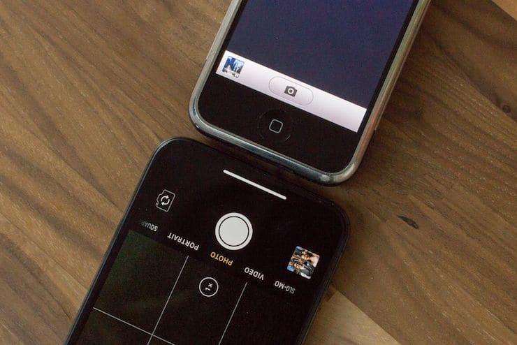 Сравнение съемки фото на камеру iPhone 2G и iPhone X