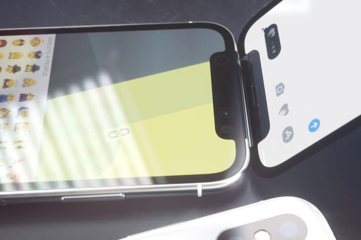 Концепт iPhone X в виде раскладушки