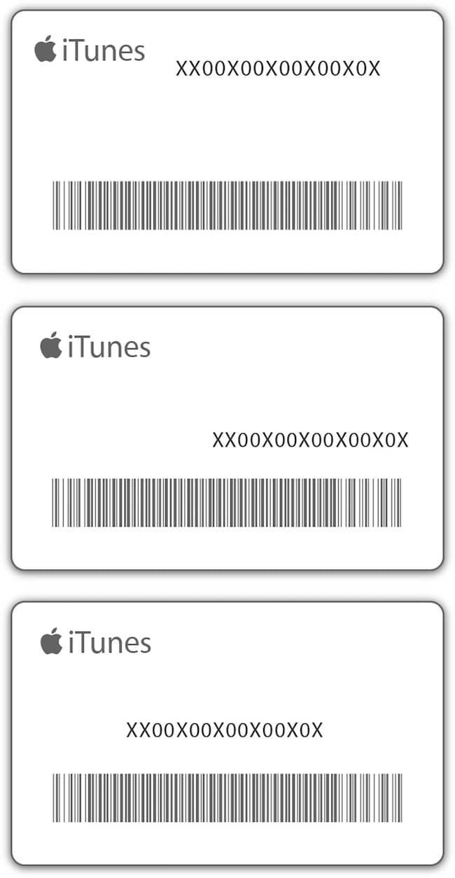 Подарочная карта Apple