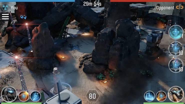Игра The Machines с дополненной реальностью для iPhone и iPad