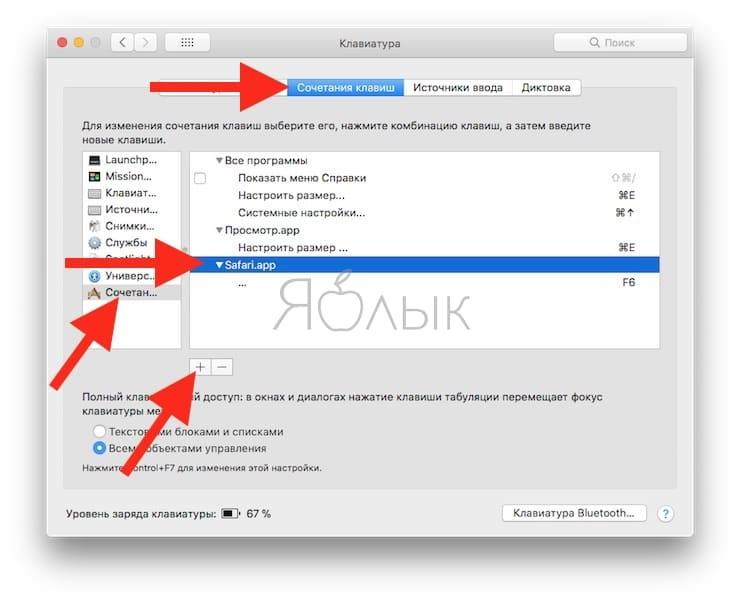 Как открывать сайты в Safari на macOS при помощи горячих клавиш