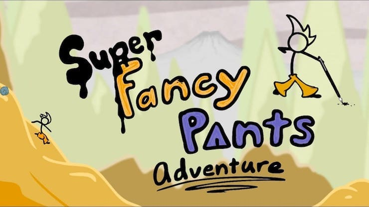 Игра super fancy pants adventure