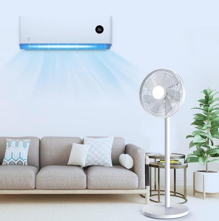Вентилятор Xiaomi Mi Smart Standing Fan 2 Lite