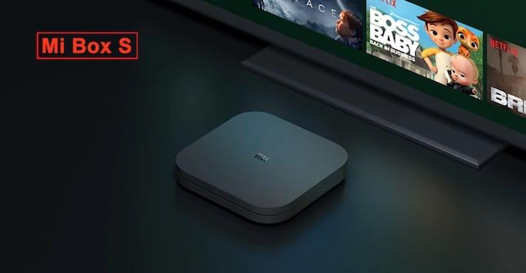 ТВ-бокс Xiaomi Mi Box S