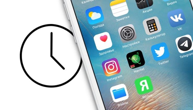Как узнать время, проведенное за приложениями на iPhone или iPad