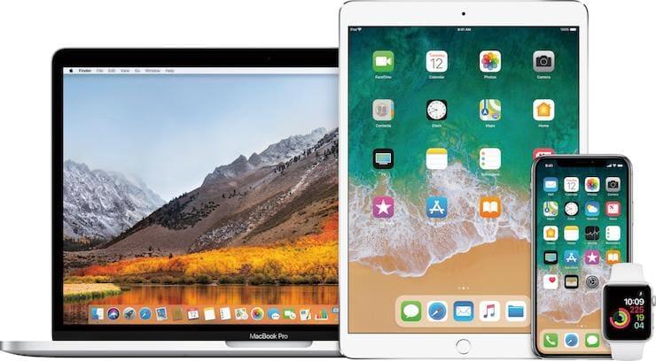новые версии iOS и macOS