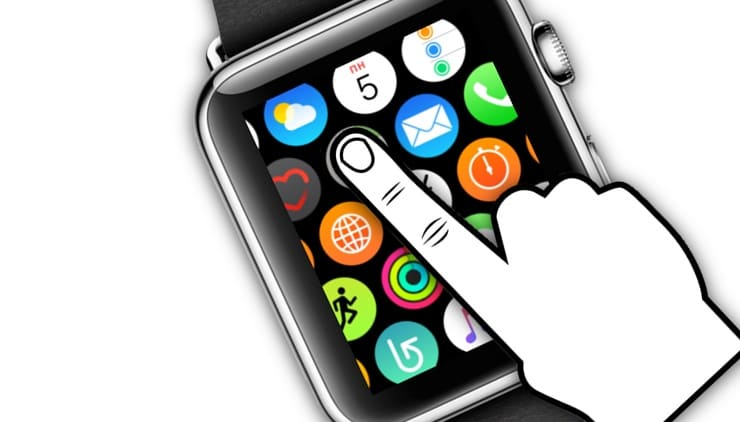Force Touch в Apple Watch