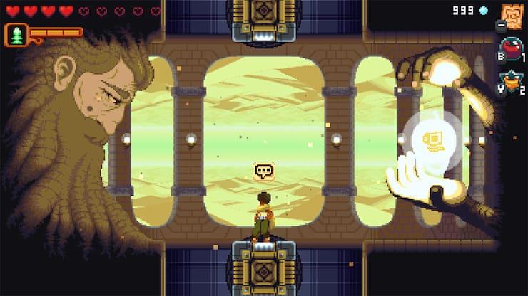 Dandara — динамичная игра для iPhone и iPad в стиле метроидвании