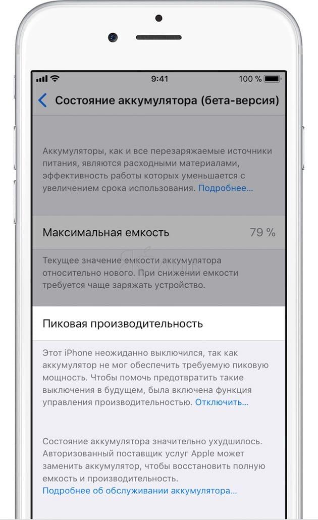 замедление iPhone на iOS
