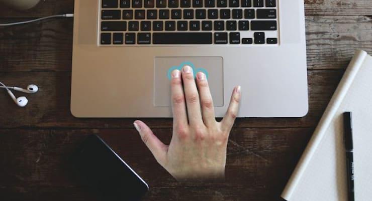 Как выделять или перемещать элементы на Mac без нажатия на трекпад