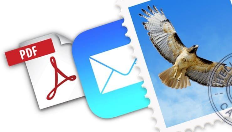 Как сохранить Email-письмо в формате PDF на iPhone, iPad и Mac