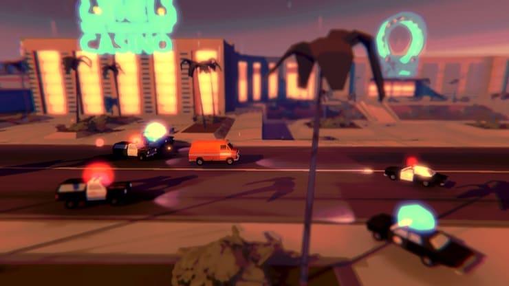 СКИДКА (149р → 0р) Игра Pako 2 для iPhone и iPad: Спасайтесь от копов, помогайте бандитам и получайте новые крутые машины