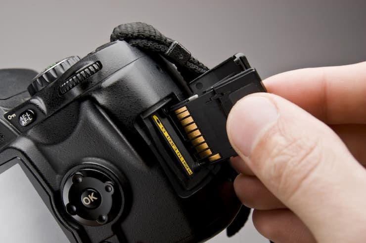 Камера и SD карта