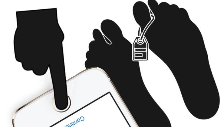 Можно ли разблокировать iPhone пальцем (лицом) мертвого человека?