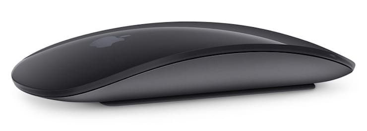 Черная Мышь magic mouse 2
