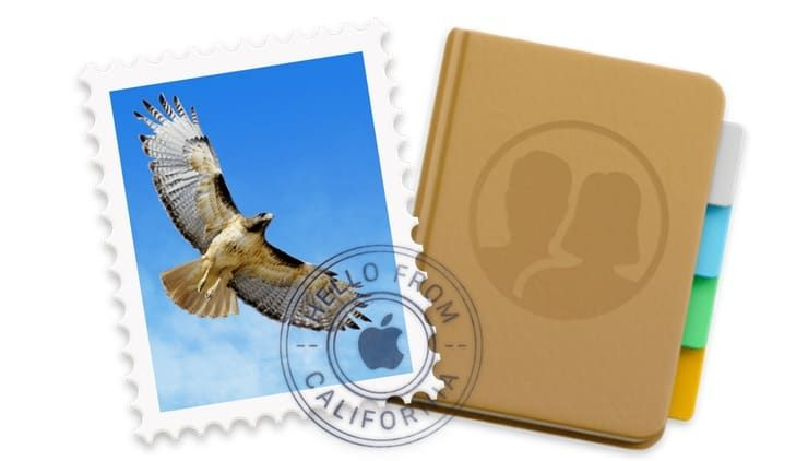Отправка группового e-mail на Mac