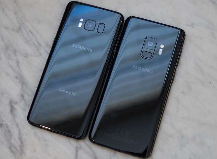 Samsung Galaxy S8 и Samsung Galaxy S9