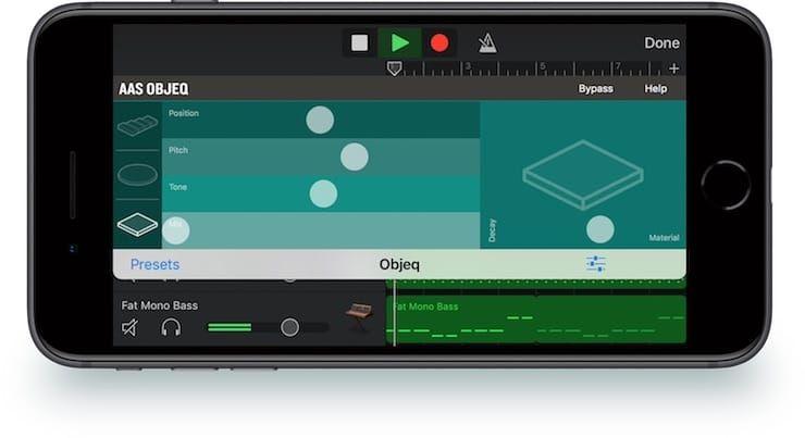 AAS Objeq – уникальное iOS-приложение для битмейкеров