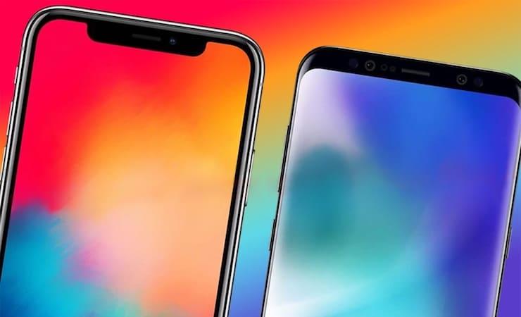iPhone X или Samsung Galaxy S9? 6 причин, почему смартфон Apple лучше