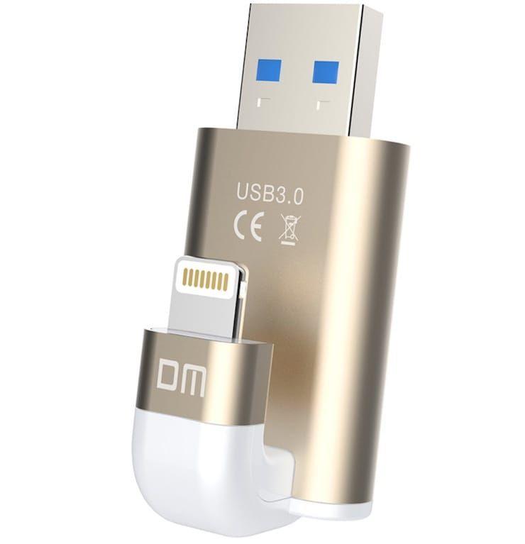 USB / Lightning флешка (внешний накопитель) для iPhone или iPad