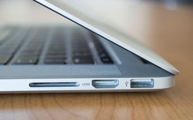 HDMI port on MacBook Pro