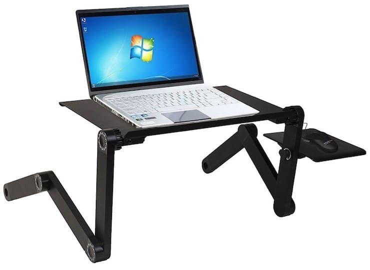 подставка для ноутбука с клавиатурой и мышкой