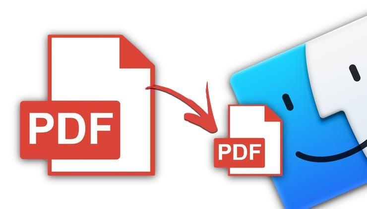 Как сжать (уменьшить размер) PDF-файл на Mac (macOS)