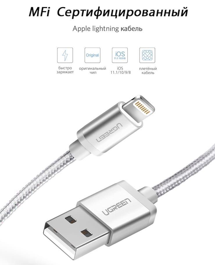 Ugreen кабель для iPhone