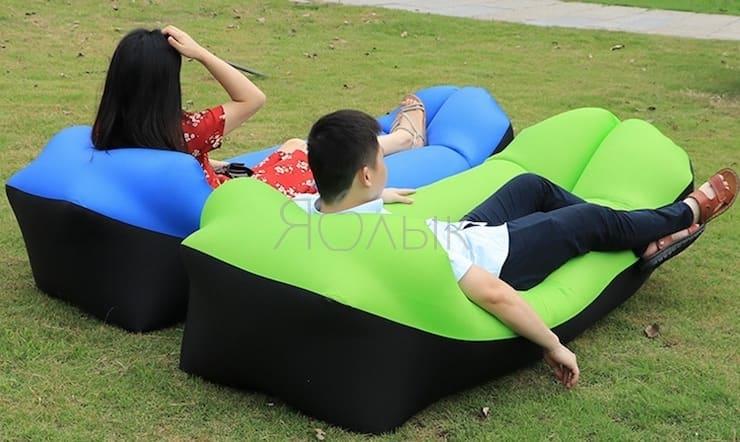 Надувной диван на AliExpress