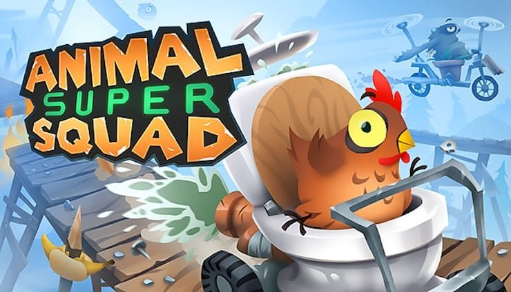 Игра Animal Super Squad для iPhone и iPad