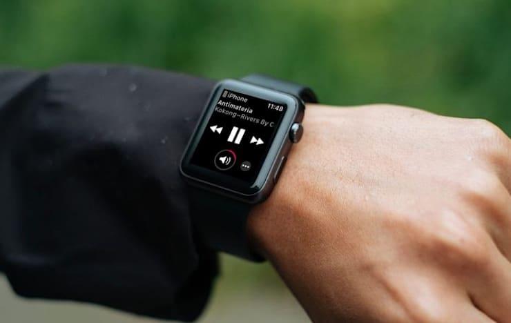 Как отменить автозапуск плеера (экрана Исполняется) на Apple Watch