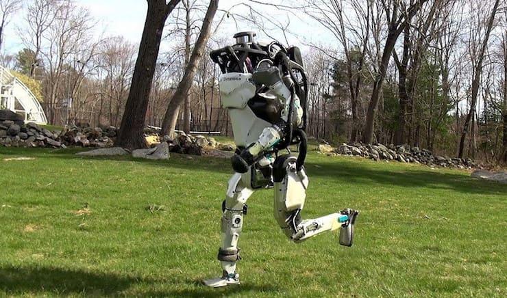 Роботы Boston Dynamics Atlas и SpotMini научились бегать