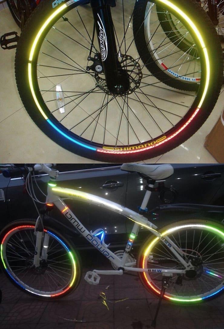 Светящиеся штуки на велосипед