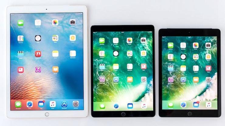 iPad Pro и iPad 2018