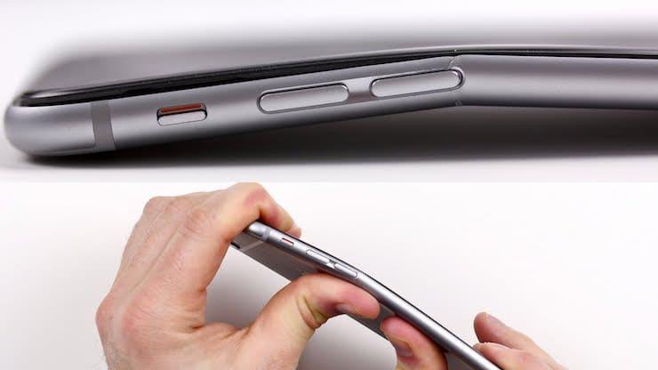 Apple знала о гнущемся iPhone 6