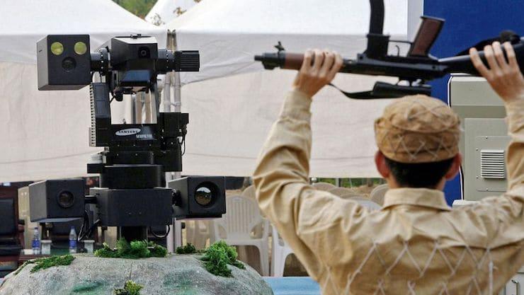 Робот-пулемет