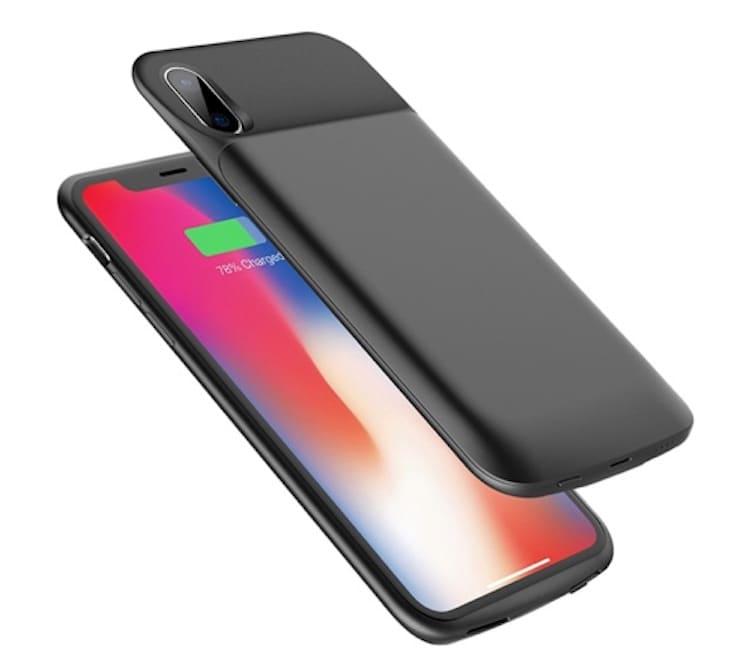 Чехол-зарядка для iPhone Rock