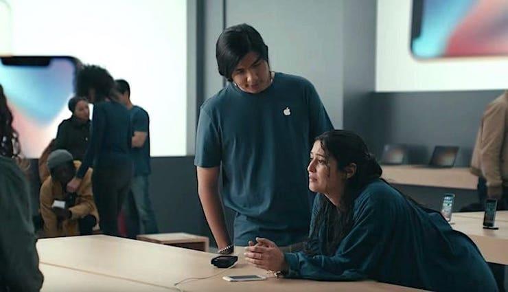 Samsung сравнила Galaxy S9 с зависающим iPhone 6