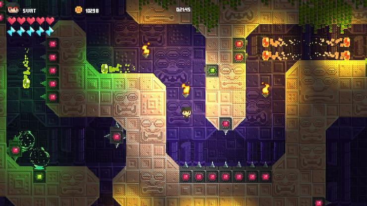Temple of Spikes – хардкорный платформер для iPhone и iPad