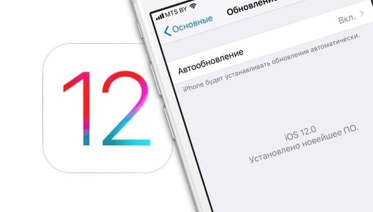 Новое в iOS 12: Как устанавливать обновления iOS автоматически