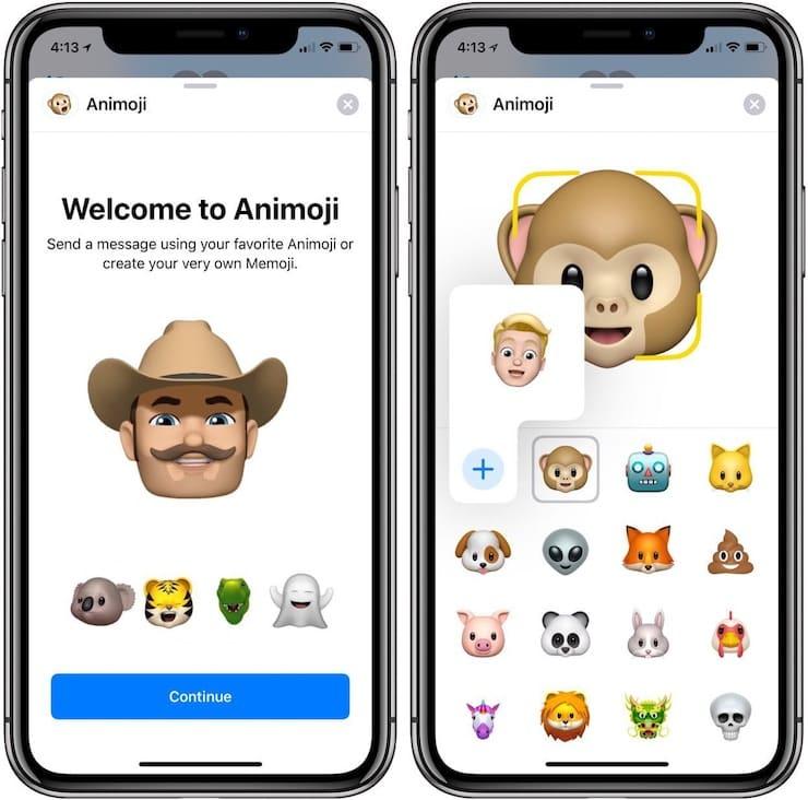Как создать Memoji на iPhone X