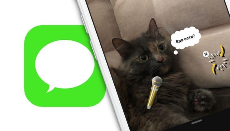 iOS 12: как редактировать, добавлять эффекты и текст на фото / видео в iMessage на iPhone и iPad