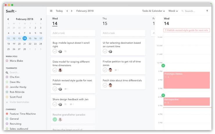 Sunsama (веб-приложение): Ежедневный список дел на основе метода Канбан