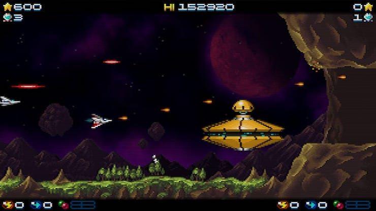 Обзор игры Super Hydorah для iPhone и iPad