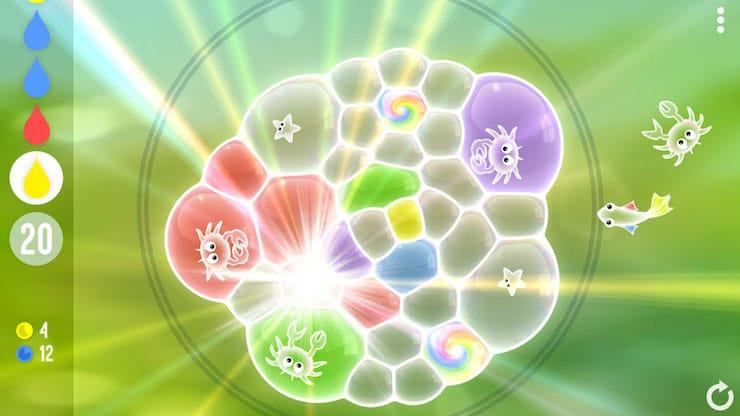 Игра Пузырьки (Tiny Bubbles) — удивительная головоломка для iPhone