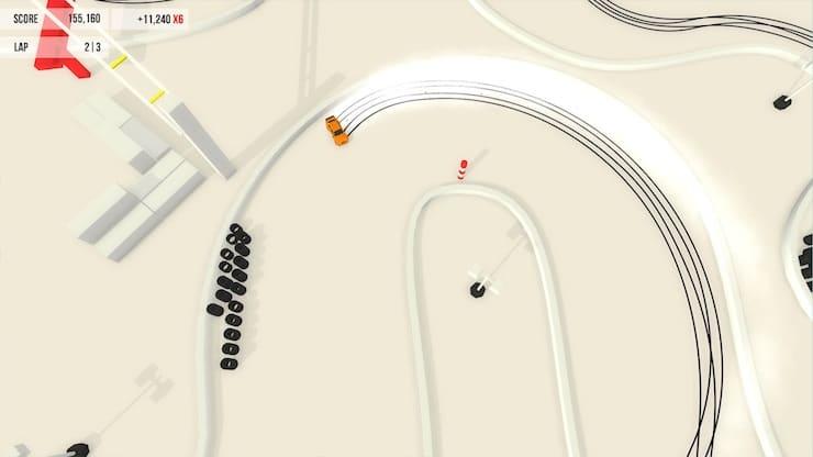 Обзор игры Absolute Drift: Zen Edition для iPhone и iPad — станьте мастером дрифта