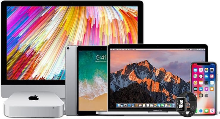 All Apple devices
